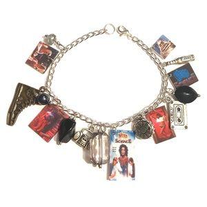 Weird Science 80's movie inspired charm bracelet